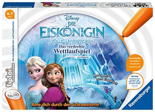 Ravensburger tiptoi Spiel 00007 - Die Eiskönigin - Völlig Unverfroren: Das verdrehte Wettlaufspiel - Ein magisches Quiz-Spiel ab 4 Jahren