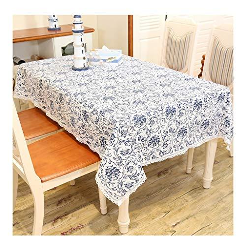 &Nappes Nappe Rectangulaire - Ethnique Vent Coton Et Lin Rectangulaire Nappe nappe de table (Couleur : E, taille : 140 * 180cm)