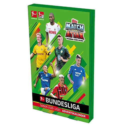 1. Bundesliga Topps Match Attax Adventskalender 2020