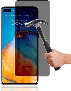 Lapinette Skärmskydd Kompatibelt med Huawei P40 Anti Spy - Härdat Glas Skärmskydd Huawei P40 Anti Spy - Sekretessfilter Hä...