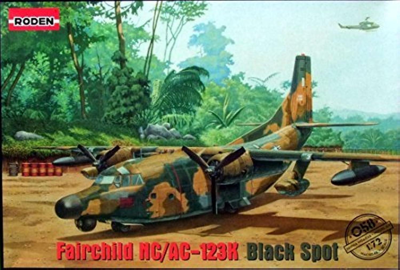 ROD058 1 72 Roden Fair ld NC AC-123K nero Spot [modello costruzione KIT] by Roden