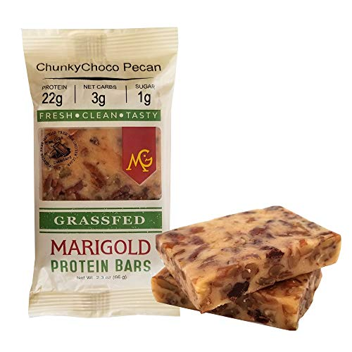 PALEO Friendly - PRIMAL Protein Bars by MariGold Bars (ChunkyChoco Pecan)