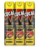 Cucal Insecticida Aerosol Cucarachas y Hormigas - 3 x 400 ml