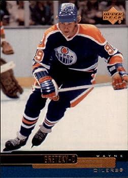 1999 Upper Deck Hockey Card  1999-00  #3 Wayne Gretzky