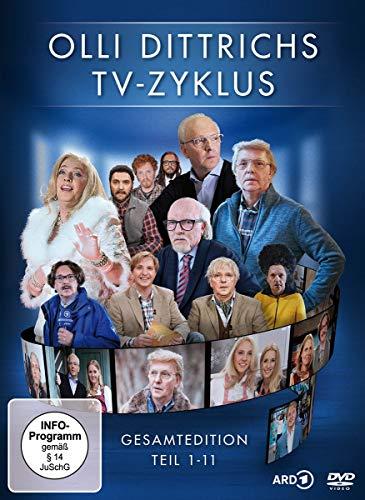 Olli Dittrichs TV-Zyklus - Gesamtedition, Teil 1-11 [2 DVDs]