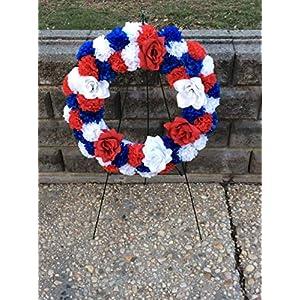 Patriotic Cemetery Silk Flowers
