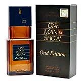 Jacques Bogart One Man Show Agua de Toilette Vaporizador Para Hombres, Oud Edición, Multicolor, 100 ml/3.4 oz (140017)
