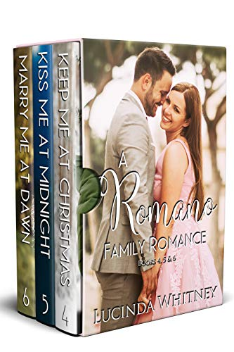 Romano Family Romance Volume 2 Box Set: Keep Me At Christmas, Kiss Me At Midnight, Marry Me At Dawn