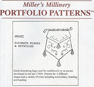 1790 to 1800 Favorite Purses and Reticules Pattern
