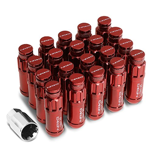 Dorman 712-X95E Wheel Nut Cap Red Aluminum Pack of 20