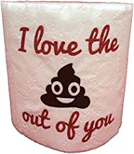 B-Gal Boutique I Love the Krap Out Of You Toilet Paper