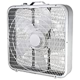 Comfort Zone CZ200A 20' 3-Speed Box Fan for Full-Force Air Circulation