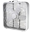 """Comfort Zone CZ200A 20"""" 3-Speed Box Fan for Full-Force Air Circulation"""