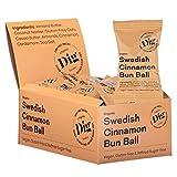 Dig/Get Raw - Rollo de bolas de canela orgánico sueco - ingredientes orgánicos y naturales - Vegano, sin gluten y refinado, sin azúcar 16x25g