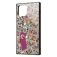 イングレム iPhone 12 / iPhone 12 Pro ディズニー キャラクター 耐衝撃 ハイブリッド ケース カバー KAKU [ ストラップ ホール 付き ] スクエア 軽量 ミニーマウス/comic IQ-DP27K3TB/MN011