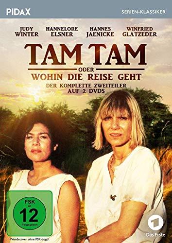 Tam Tam oder Wohin die Reise geht / Der komplette Zweiteiler mit Judy Winter und Hannelore Elsner (Pidax Serien-Klassiker) [2 DVDs]