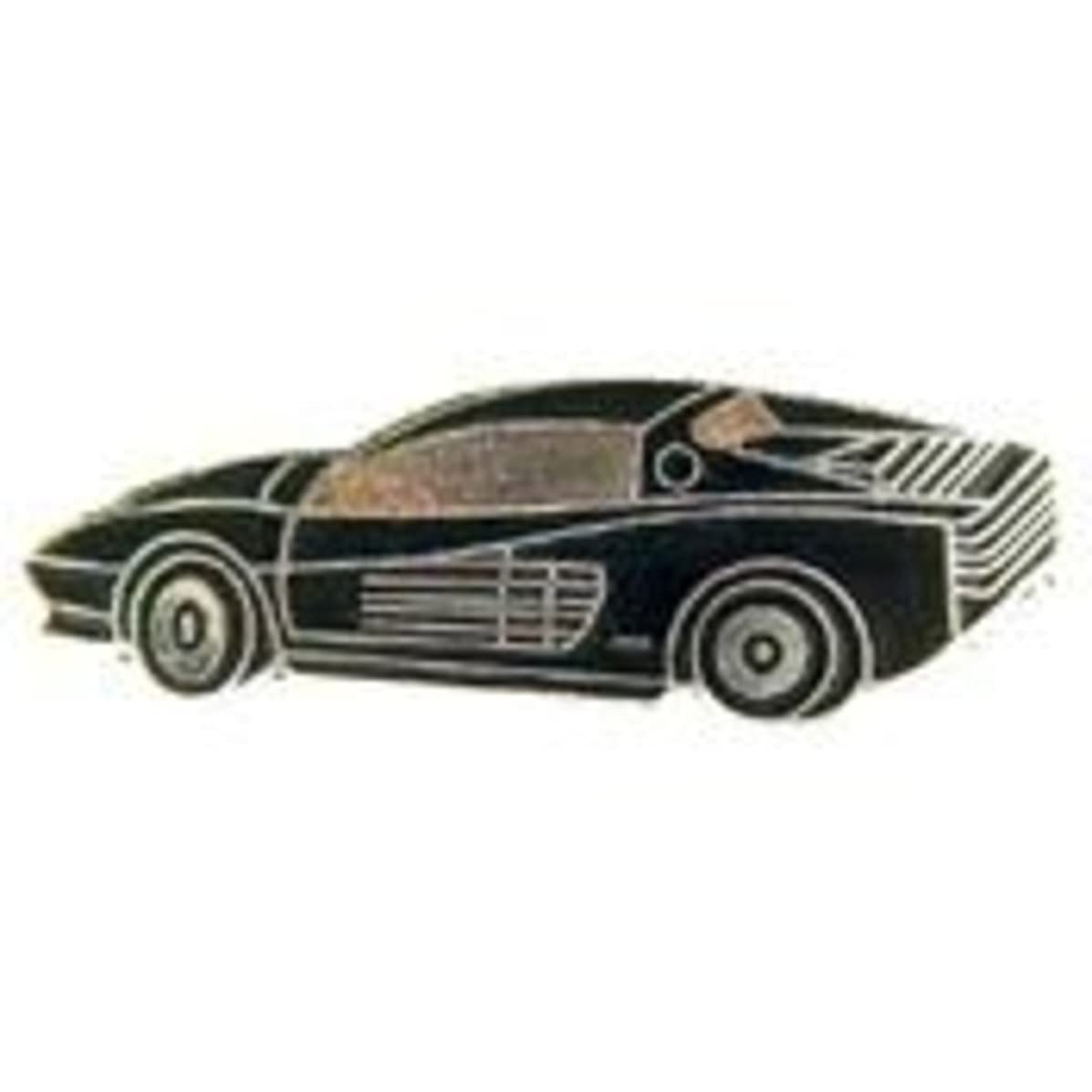 EagleEmblems P06683 PIN-CAR,Ferrari,TESTAROSA (1'')