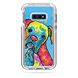 MightySkins Skin Compatible with Lifeproof Next Case Samsung Galaxy 10E - Boxer Rainbow | Protective, Durable, and Unique Vinyl Decal wrap Cover | Easy to Apply, Remove | Made in The USA