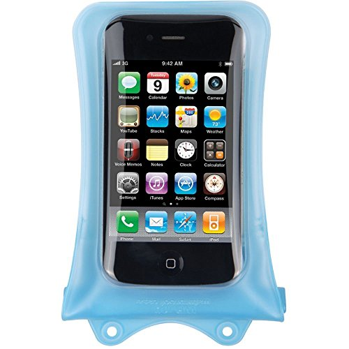 Preisvergleich Produktbild DiCAPac WP-i10 Unterwassertasche (iPhone,  bis 10m wasserdicht,  Schutz vor Wasser,  Sand und Schnee,  Schutzhülle,  geeignet für iPhone SE / 5 / 4S / 4,  iPod und andere kompakte Smartphones bis 12, 5 x 7cm) transparent