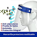 10Pcs Pantalla Protección Facial-FUSIYU Protector Facial Antivaho,Visera de protección facial,Reutil... #3