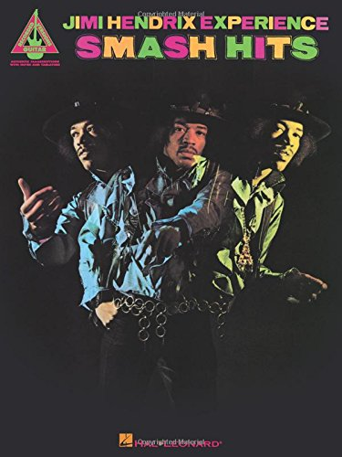 Jimi Hendrix Experience Smash Hits Guitar Recorded Versions: Songbook, Grifftabelle für Gitarre