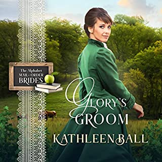 Glory's Groom: Mail Order Brides of Sweet Water, Book 3     The Alphabet Mail-Order Brides, Book 7              Written by:                                                                                                                                 Kathleen Ball                               Narrated by:                                                                                                                                 Kay MacClean                      Length: 4 hrs and 45 mins     Not rated yet     Overall 0.0