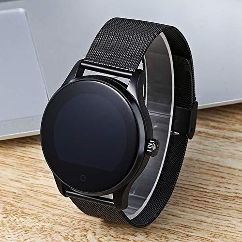 Heylas K88H Smartwatch Wasserdicht IP54 Smart Watch Uhr mit Pulsmesser Fitness Watch Bluetooth Smartwatch Fitness Tracker Intelligente Armbanduhr mit Schrittzähler Schlaf-Monitor für Android iOS