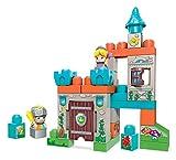 Mega Bloks Château Fort, jeu de blocs de construction, 30 pièces, jouet pour bébé et enfant de 1 à 5 ans, FMC01
