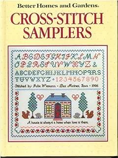 cross stitch sampler patterns free