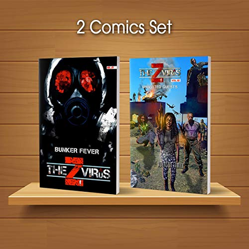 The Z Virus Vol. 01 and 02 (2 Comics Set) audiobook cover art