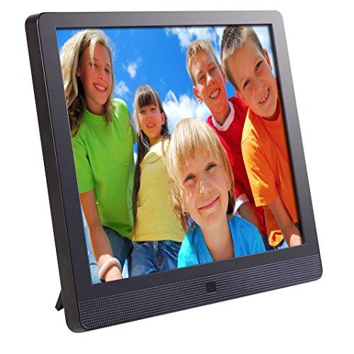 Pix-Star Digital Photo Frame 10.4 pollici XD FotoConnect WiFi con l'indirizzo e-mail e Web Radio