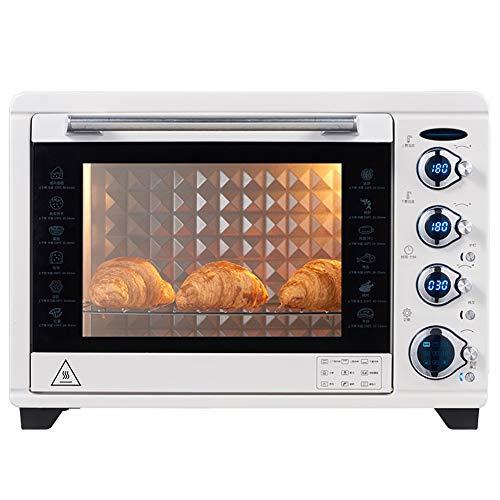 Toaster oven STBD-Four inverseur Domestique, capacité 38L, Grille à Trois Couches et bac à laitier intégré, Neuf menus préréglés, Grille-Pain sur la Table de la Cuisine, 1800W