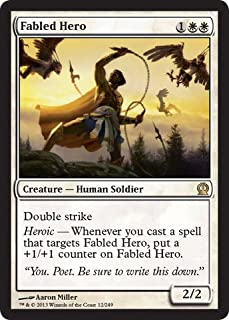 Magic: the Gathering - Fabled Hero (12/249) - Theros - Foil
