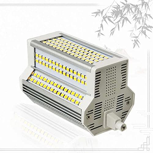 Bulbs Luz Regulable 118mm LED R7S 50w SMD 2835 J118 Reflector AC110-240V Reemplazo de Reflector halógeno de Doble Extremo Equivalente 500W