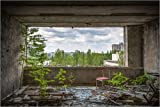 Pster 100 x 70 cm: View to Pripyat de Meinolf Lipka - impresin artstica, Nuevo pster artstico