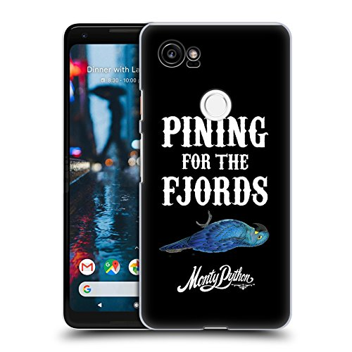Official Monty Python Pining For The Fjords Key Art Hard Back Case Compatible for Google Pixel 2 XL