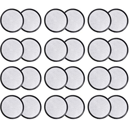 PUREUP 24 Pack Filters Discs Compatible with Mr. Coffee Machines Replacement Charcoal Water Filter Discs Filter for Mr Coffee Maker Brewers