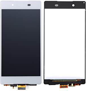 ixuan Sony XPERIA Z4 Z3+ E6553 E6533 5.2インチ 修理用フロントパネル(フロントガラスデジタイザ)タッチパネル Lcd液晶パネルセットSO-03G/SOV31/402SO 対応 修理工具付き (ホワイト)