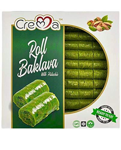 Premium Handgemaakte Verse Vegetarische Turkse Baklava Pistache Dessert Zoet Gift, 1200 GR
