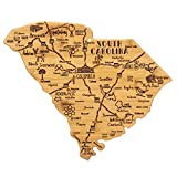 Totally Bamboo South Carolina State Destination Bamboo Serving and Cutting Board
