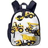 Children's Backpacks Road Roller Bulldozer Dumper Truck Students School Bag Child Kids Casual Daypack Sports...