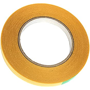 longueur 45 m adh/ésif acrylique solvant largeur 25 mm blanc BONUS Eurotech 2BT45.00.0025//045A# ruban adh/ésif double face /épaisseur:0.15 mm