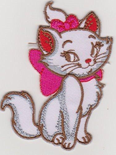 JAB Seller Parche plancha de planchar Iron on Patch pequeño gato Aristogatos mascotas