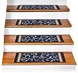 Stair Treads Carpet Non-Slip – Stair Runners for Wooden...