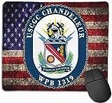 USCGC Chandeleur WPB 1319 Alfombrillas de ratón Alfombrilla Antideslizante para Juegos Alfombrilla d...