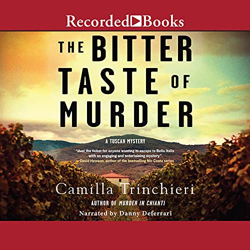 The Bitter Taste of Murder Audiobook By Camilla Trinchieri cover art