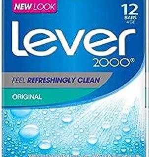 Lever 2000 Bar Soap, Original, 4 oz, 12 Bar
