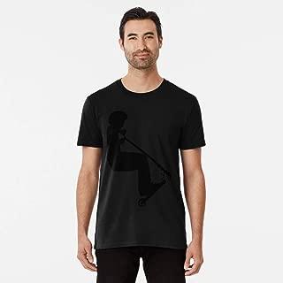 T-shirt Downtown Born To Scoot Stunt Scooter Boy T Shirts For Women Men T-shirts Tshirt Hoddie Unisex Swearshirt Ladie Kids.