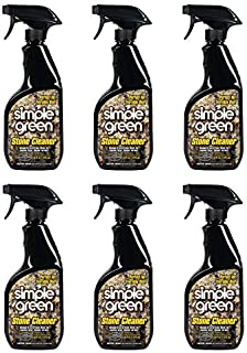Simple Green Stone Cleaner and Polish 32oz Trigger Spray (Pack of 6)