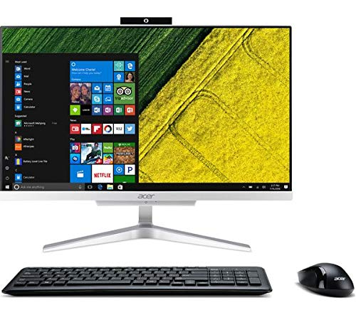 Acer Aspire C22-860 AIO Intel 2400 MHz SOC, HD Graphics 620 Web Cam